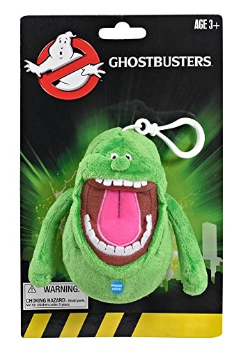 Ghostbusters - GB03693 - Slimer, Mini-Plüschfigur mit Sound (Ghostbuster Slimer)