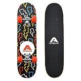 """Apollo Kids Skateboard Flash, Piccolo Skateboard per Bambini, 24"""" / 61 cm di Lunghezza"""