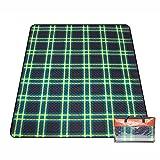 Couvertures de pique-nique Tapis de pique-nique 210 * 170cm étanche à l'humidité Pad tissu de gazon imperméable à l'eau en plein air ( Couleur : Style 1 )
