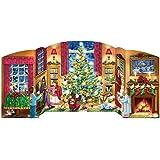 Holiday Home Free Standing Advent Calendar