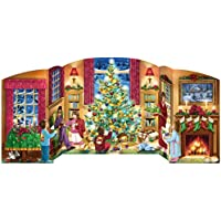 Vermont Christmas Company Holiday Home Free Standing Advent Calendar