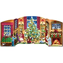 Holiday Home Free Standing Advent Calendar by Vermont Christmas Company