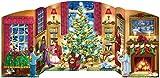 Weihnachten Haus FreistehenderAdventskalender