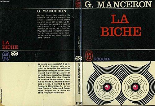 La biche par MANCERON (G.)