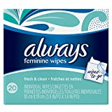 Always Lightly Scented Wipes-To-Go 20 Count (Pack of 4) by Always (English Manual) Bild