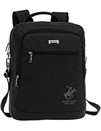 Beverly Hills Polo Club 5116051 Mochila Tipo Casual, 9.67 Litros, Color Negro