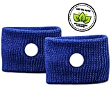 Prime Bands Blue Travel Sickness Bands for Children and Adults – Drug Free