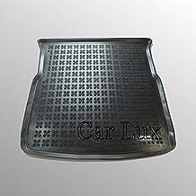 Car Lux - Alfombra Cubeta Protector Maletero FORD S-Max S Max 5 plazas PREMIUM desde 2006-