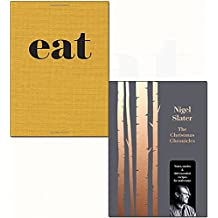 Nigel slater eat and christmas chronicles [hardcover] 2 books collection set