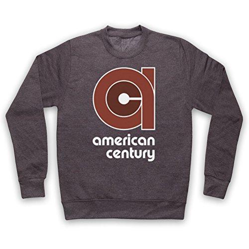 vinyl-american-century-record-label-adultos-sudadera-carbon-medium