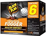 Case Pack of 4 : Black Flag HG-11037-1 Indoor Fogger, 1.25-Ounce, Case of