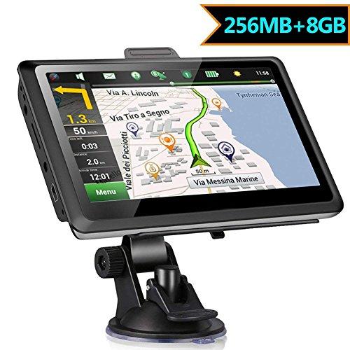 GPS Voiture Auto 5 Pouces Camping Car 8Go Wince Système 6.0...