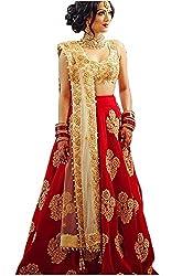 Lehenga Choli (Shree Impex Womens Heavy Embroidered Taffeta Silk lehnga/Lehenga Choli/Lehenga Choli For Women)