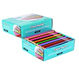 Classmaster CP144 Class box of Colouring Pencils, Assorted Colours (Pack of 144)
