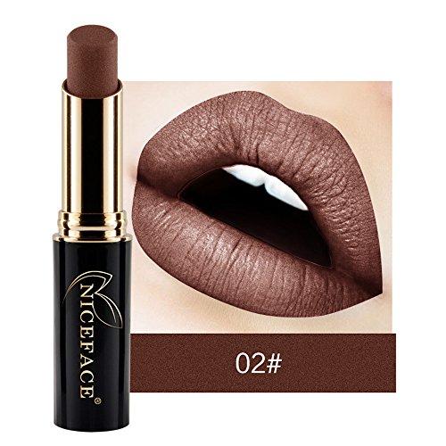 VJGOAL Mode Matter Lippenstift Feuchtigkeitsspendend Lipgloss Wasserdichtes Pigment Nude Long Lasting Lipstick Makeup 24 Farbe