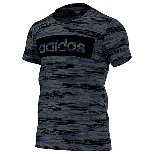 Adidas lin Camo Tee T-Shirt pour homme L Negro (Grpudg)