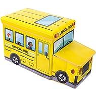 Bieco 04000506–Caja de almacenamiento y banco el autobús escolar, aprox. 55X 26,5X 31,5cm