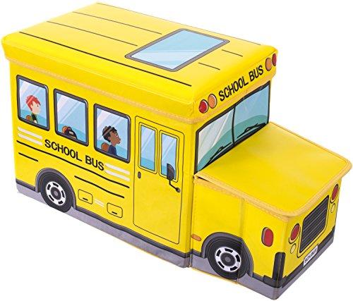 Bieco 04000506 Staubox / Sitzbank Schulbus, circa 55 x 26.5 x 31.5 cm Bus-boxen