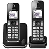 Best 2 Line Cordless Phones - Panasonic KX-TGD312EB Cordless Home Phone with Nuisance Call Review