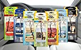 2 Packs (6 Fresheners) x Official Yankee Candle Assorted Car Jar Hanging Air Fresheners