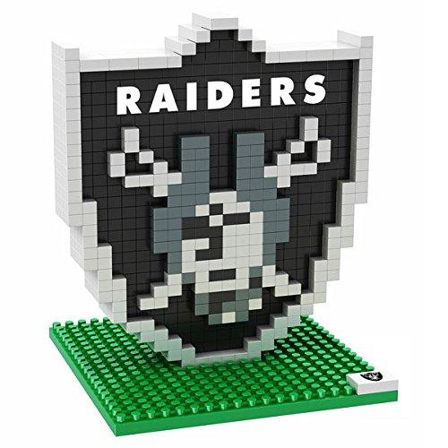 Raiders Puzzle 3d (OAKLAND RAIDERS NFL Football Team 3D BRXLZ LOGO Puzzle)