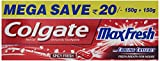 #9: Colgate Maxfresh Spicy Fresh Red Gel Toothpaste - 300 g