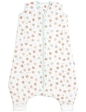 Schlummersack Schlafsack mit Füßen leicht gefüttert in 1.0 Tog - Eulen - erhältlich in 5 verschiedenen Grössen