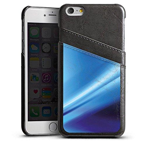 Apple iPhone 4 Housse Étui Silicone Coque Protection Déroulement Air Bleu Étui en cuir gris