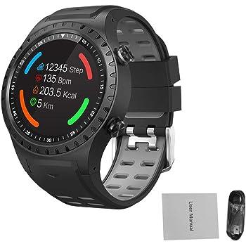 Globalqi Smartwatches Reloj Inteligente Deportes al Aire Libre Reloj Deportivo SMA-M1 GPS Llamada Bluetooth