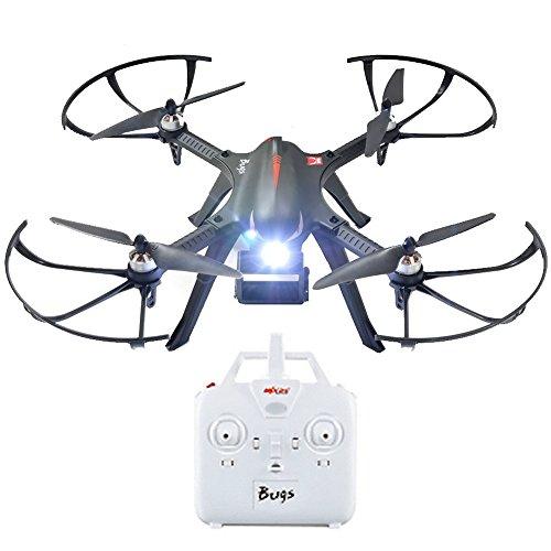 MJX B3 Profi Quadrocopter Drohne mit Aktionkamera-Halterung für Gopro Bürstlose Motoren 6A Elektrizitätsregulierung 2.4G Fernsteuer 4CH 6-Achsen Gyro 3D Rollen Funktion Drone für Profi Training Standard Version ohne Kamera und Gimbal - 4