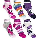 Mädchen Sneaker Socken Kinder Füßlinge My little Pony 6 Paar 27-30 / mehrfa