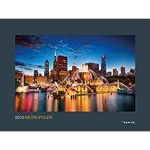 Metropolen 2019: Kalender 2019 (KUNTH Wandkalender Black Edition)