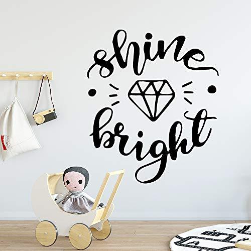 Hot Shine Cartoon Wandtattoos Pvc Wandkunst Diy Poster Für Wohnzimmer Schlafzimmer Wandbild Benutzerdefinierte Wanddekorationen Wohnzimmer 43 cm X 50 cm