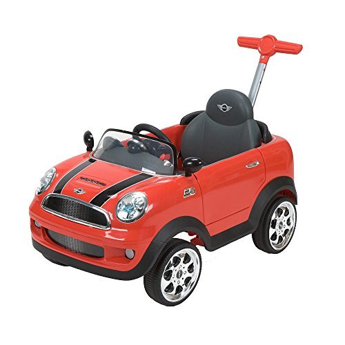 Preisvergleich Produktbild Avigo Mini Cooper Foot to Floor Ride-On - Red Pack of 2 by Huffy