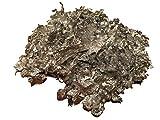 Silberflocken Silberflakes Blattsilber 1,1 oder 2,2 Liter – Silber Deko Dekoration Vasenfüller – dekorieren – Silberne Hochzeit – Wohnung schmücken – Schüssel Glas-Vase Silberschale (2,2Liter)