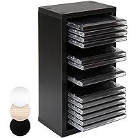 suchergebnis auf f r cd regal cd dvd st nder audio video zubeh r elektronik. Black Bedroom Furniture Sets. Home Design Ideas