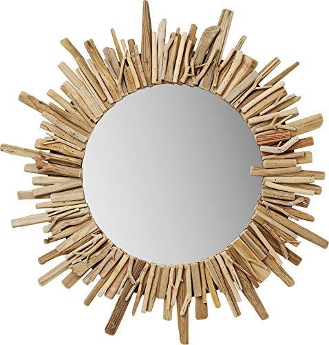 Kare Design Legno Spiegel, Ø82 cm