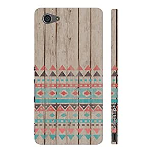 Enthopia Designer Hardshell Case Woody A…ztec Back Cover for Sony Xperia Z5 Mini