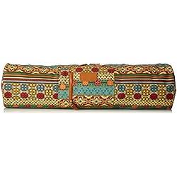 """Yoga bolsa """"Sunita"""" de #Fabricado en lona DoYourYoga (lona), complejo de alta calidad, para extra grande de Yoga y gimnasia hasta un tamaño de 186 x 63 x 0,6 cm, edel-diseños disponibles en diferentes. Muster 1"""