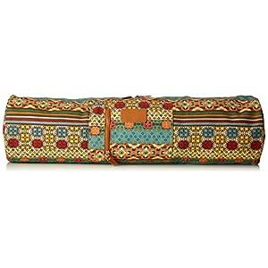 Yogatasche »Sunita« von #DoYourYoga aus hochwertigem Canvas (Segeltuch), aufwendig verarbeitet, für extra große Yogamatten und Gymnastikmatten bis zu einer Größe von 186 x 63 x 0,6 cm, in verschiedenen Edel-Designs erhältlich.
