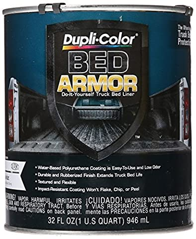 Dupli-Color BAQ2010 Bed Armor DIY Truck Bed Liner with Kevlar Bed Armor - Quart by Dupli-Color