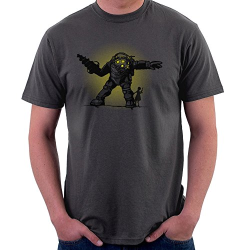 Pair Bond Big Daddy Little Sister BioShock Men's T-Shirt