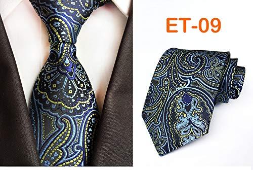 Preisvergleich Produktbild Sahisdi Krawatte für Männer,  8cm Mode Enge Krawatte 100% Seide Jacquard Blumenstrauß Krawatte Herren Bräutigam Business Krawatte Zubehör Krawatte Machen