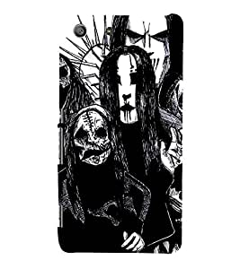 EPICCASE the ghost Mobile Back Case Cover For Sony Xperia M5 (Designer Case)