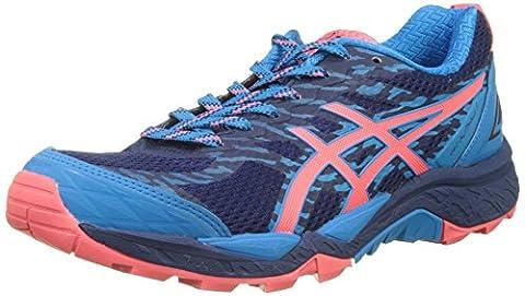 Asics Women's Gel-Fujitrabuco 5 Trail Running Shoes, Blue (Indigo Blue/Diva