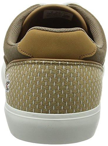 Lacoste Herren Jouer Lace 118 1 Cam Sneaker Braun (Brw/lt Tan)