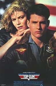 Top Gun Poster Movie D 11 x 17 In - 28cm x 44cm Tom Cruise Kelly McGillis Val Kilmer Tom Skerritt Anthony Edwards Meg Ryan
