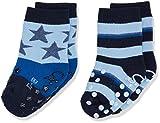 Sterntaler Baby-Jungen Socken Abs-Krabbelsöckchen DP Sterne, Blau (Marine 300), 20