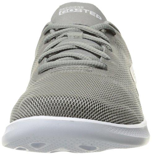 Skechers Go Step Lite-Endure Textile Laufschuh Gray