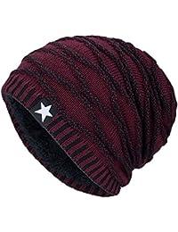 Sombreros Unisex Invierno, ❤️ Zolimx Gorra de Caliente Sombreros Hombre Planas de Otoño Invierno Femenino